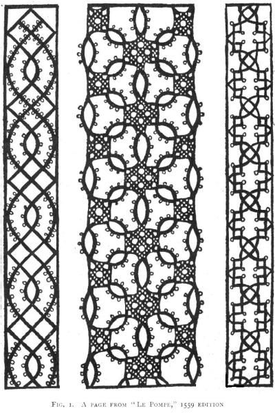 bobbin lace patterns mmfig1 | Bobbin lace | Pinterest | Faden ...