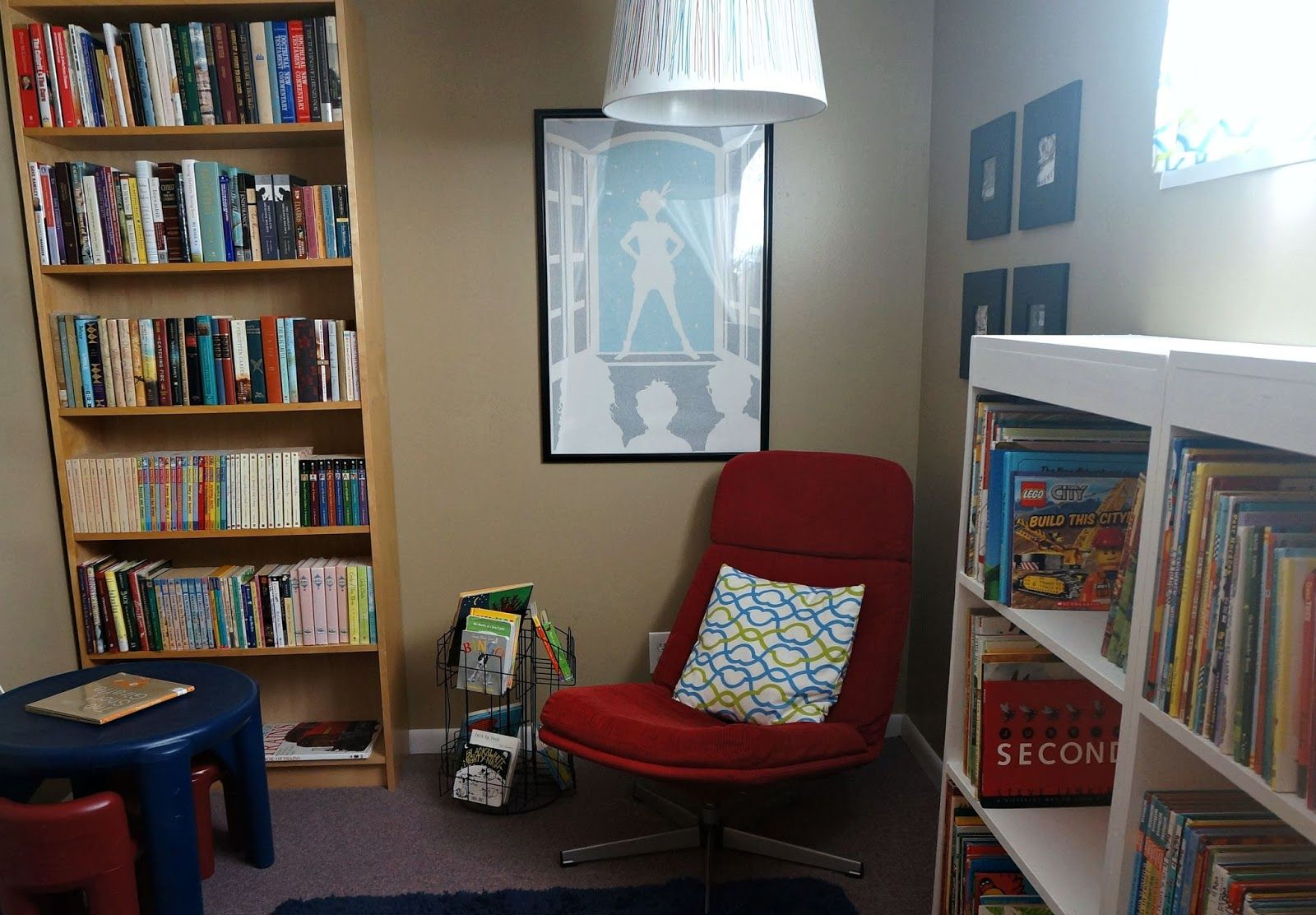 Sunlit Pages: Raising Readers: Make a Library in Your Home
