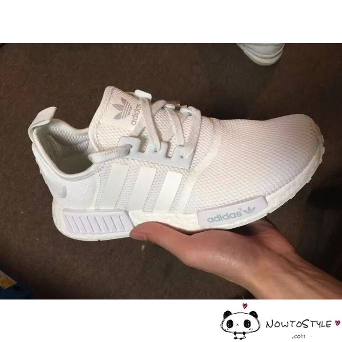buy popular 60fd6 57044 Adidas Originals NMD All White where to buy authentic adidas ...
