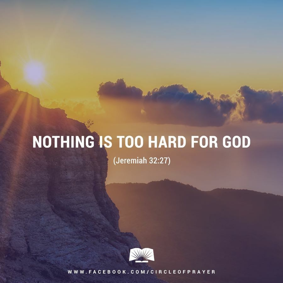 Nothing is to hard for God | The Kingdom of God | Quotes