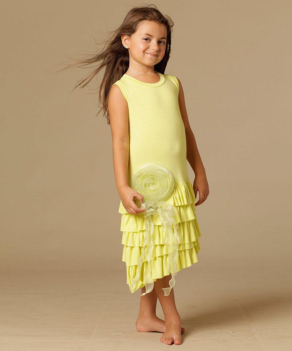 This Citrus Mia Drop-Waist Dress - Toddler & Girls by KidCuteTure is perfect! #zulilyfinds