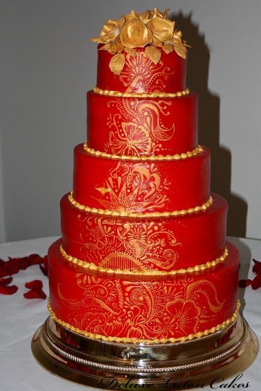 - Asian Wedding Cake by evelinarm