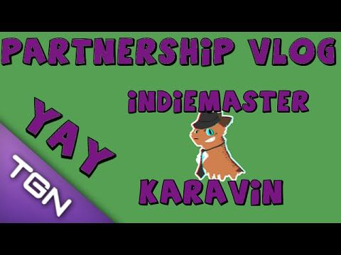 Partnered with TGN! - IndieMaster Vlog
