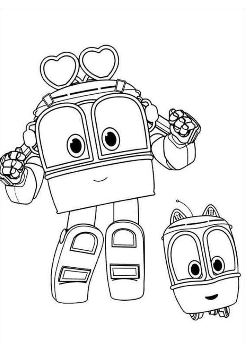 Selly and Becky (With images) Cartoon coloring pages