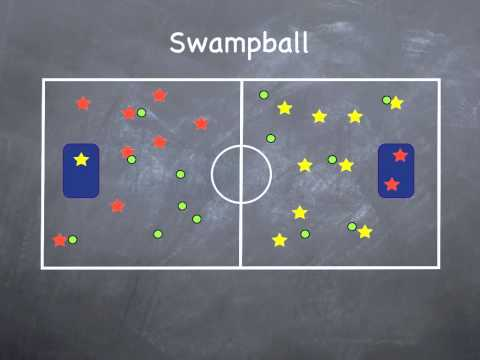 Physical Education Games – Swamp Ball – YouTube