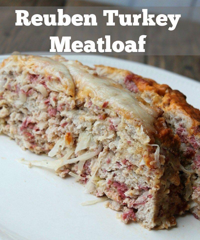 Healthy Reuben Turkey Meatloaf Recipe