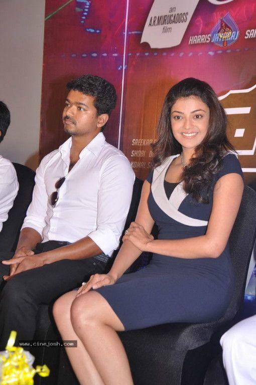 Illayathalapathy Vijay Kajal Agarwal Ar Murugadoss Thuppakki Movie Audio Launch Movies Vijay Actor Tamil Movies