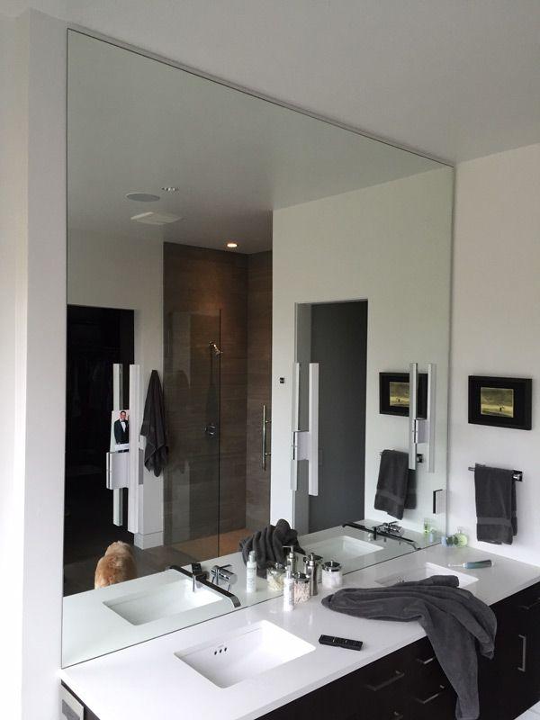 Giant Custom Bathroom Mirror Bendor