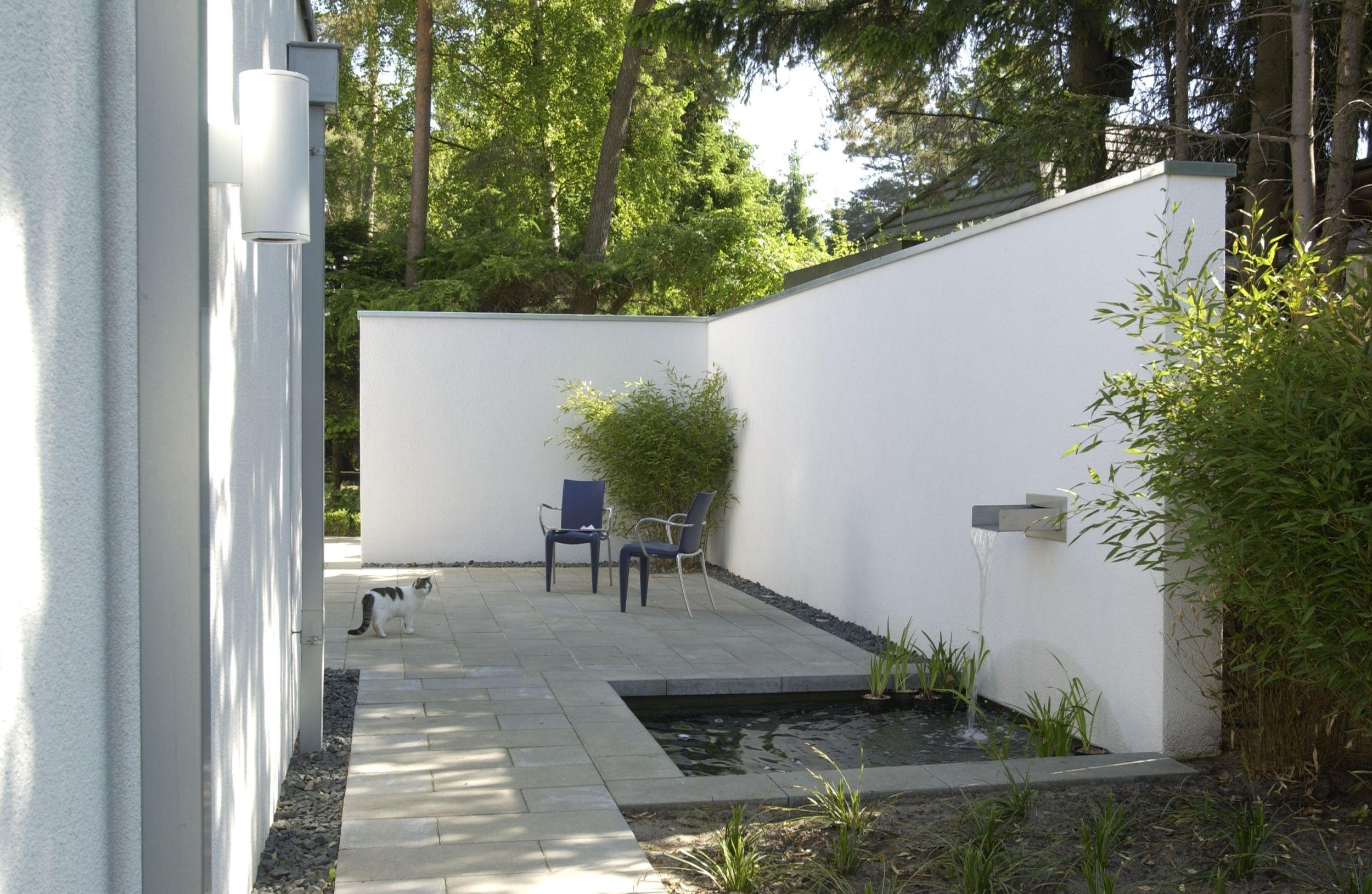 Gartenmauern Garten Gartengestaltung