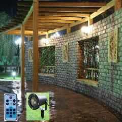 [ 23% OFF ] Waterproof Outdoor / Indoor Christmas Lights Rg Laser Projector Red Green Moving Lights With Remote Controller