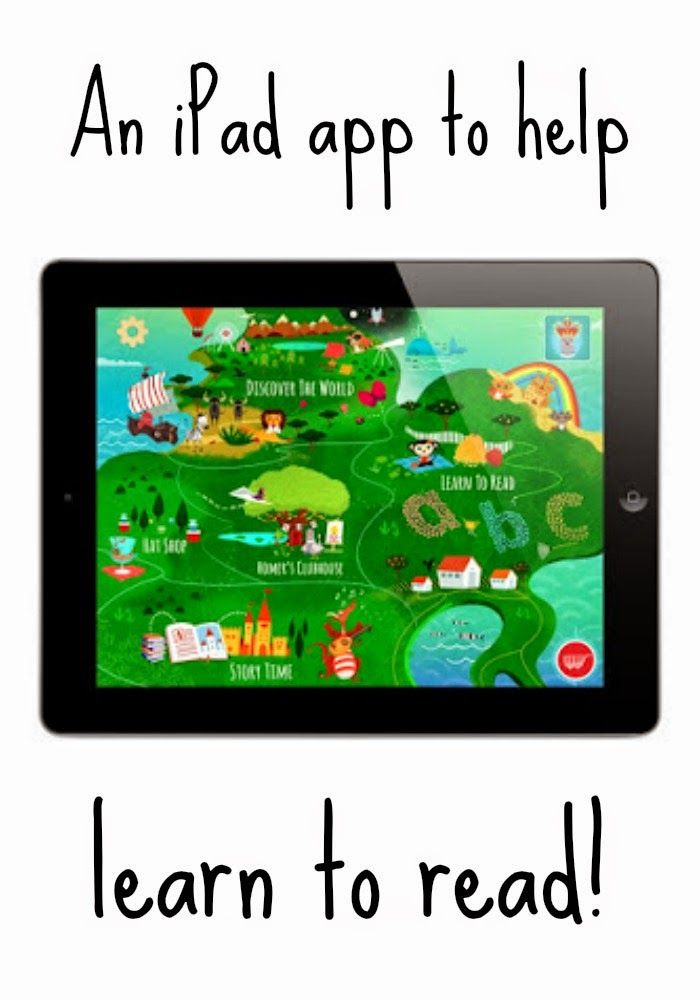 Learning to Read with new iPad app, Learn with Homer