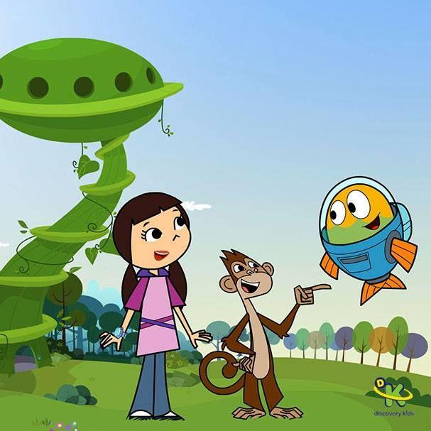 Discovery Kids Brasil Desenho Desenhos Coloridos Personagens