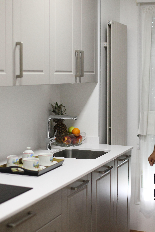 Cocina santos poca radiador irsap piano fregadero - Grifos de cocina blancos ...