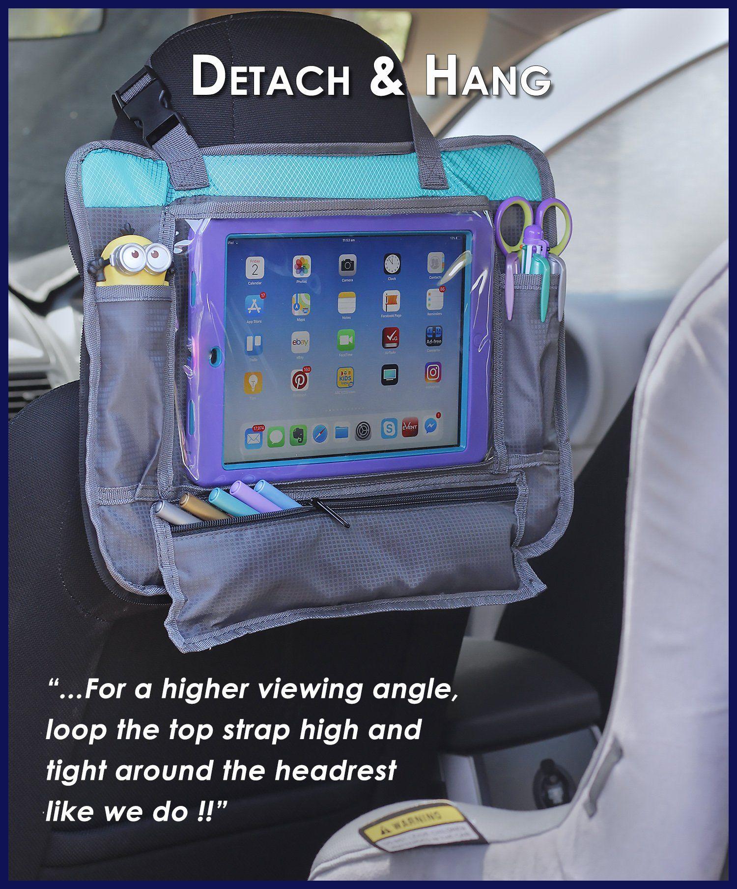 ORGANIZED EMPIRE's Detachable 4 in 1 Kids Travel Tray