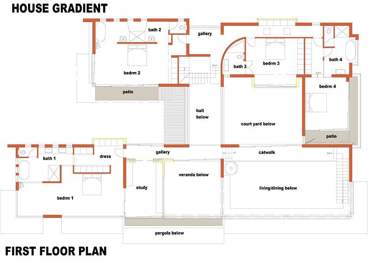 Sweet Inspiration 12 Floor Plans For Houses South Africa Free African House With Pictures