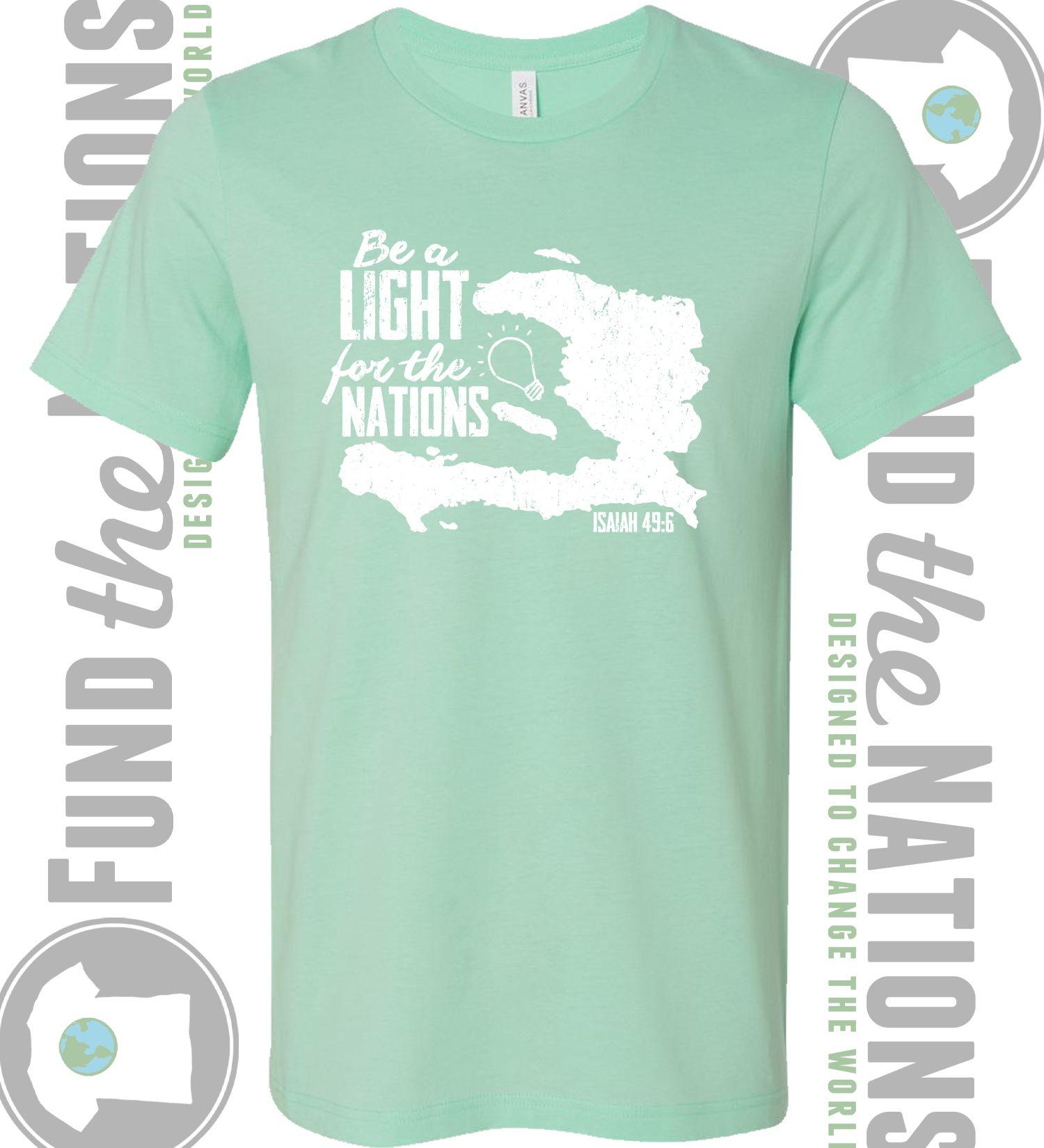 Christmas Fundraiser Shirts.Haiti T Shirt Mission Trip Fundraiser On A Mission Haiti