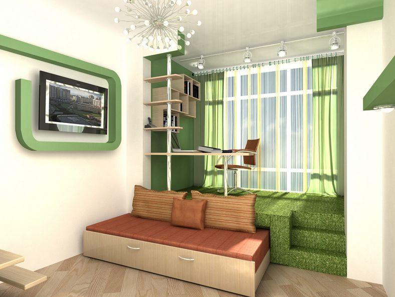 мебель своими руками для маленьких комнат