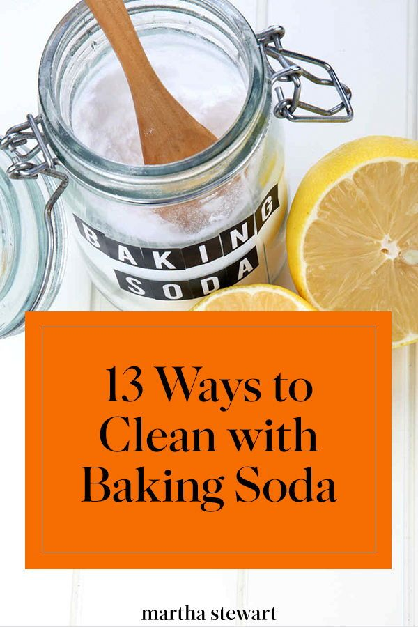 13 Ways to Clean with Baking Soda | Baking soda cleaning ...