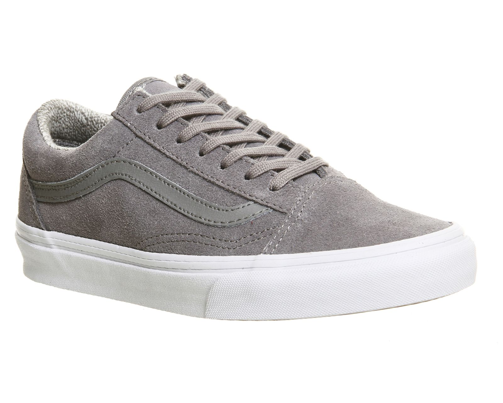 Buy Suede Woven Grey Vans Old Skool from OFFICE.co.uk ... a71cea2767