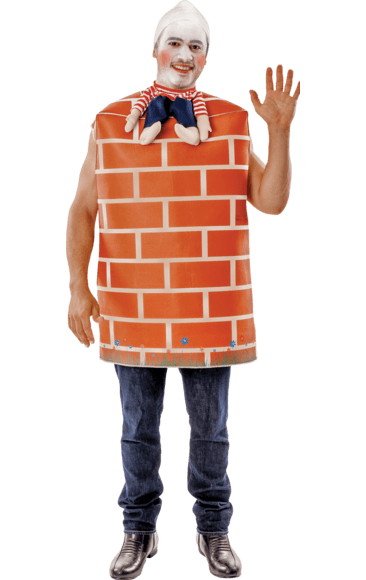 Adult Humpty Dumpty Fancy Dress Costume  0d571b507125