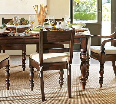 Hayden Extending Dining Table Potterybarn Heritage Express Stain