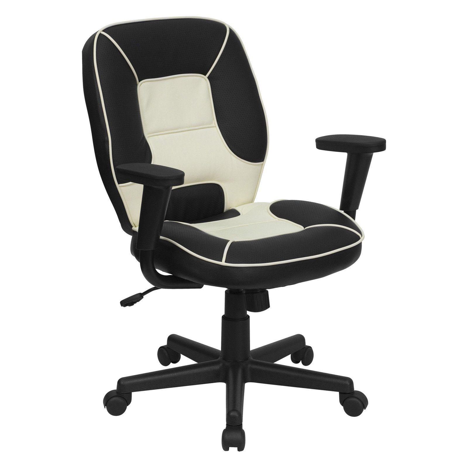 Flash Furniture MidBack Vinyl Steno Executive Office
