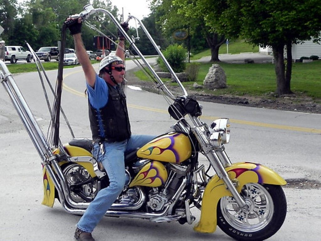 Extreme Motorcycle Ape Hangers Funny Pictures Ape Hangers