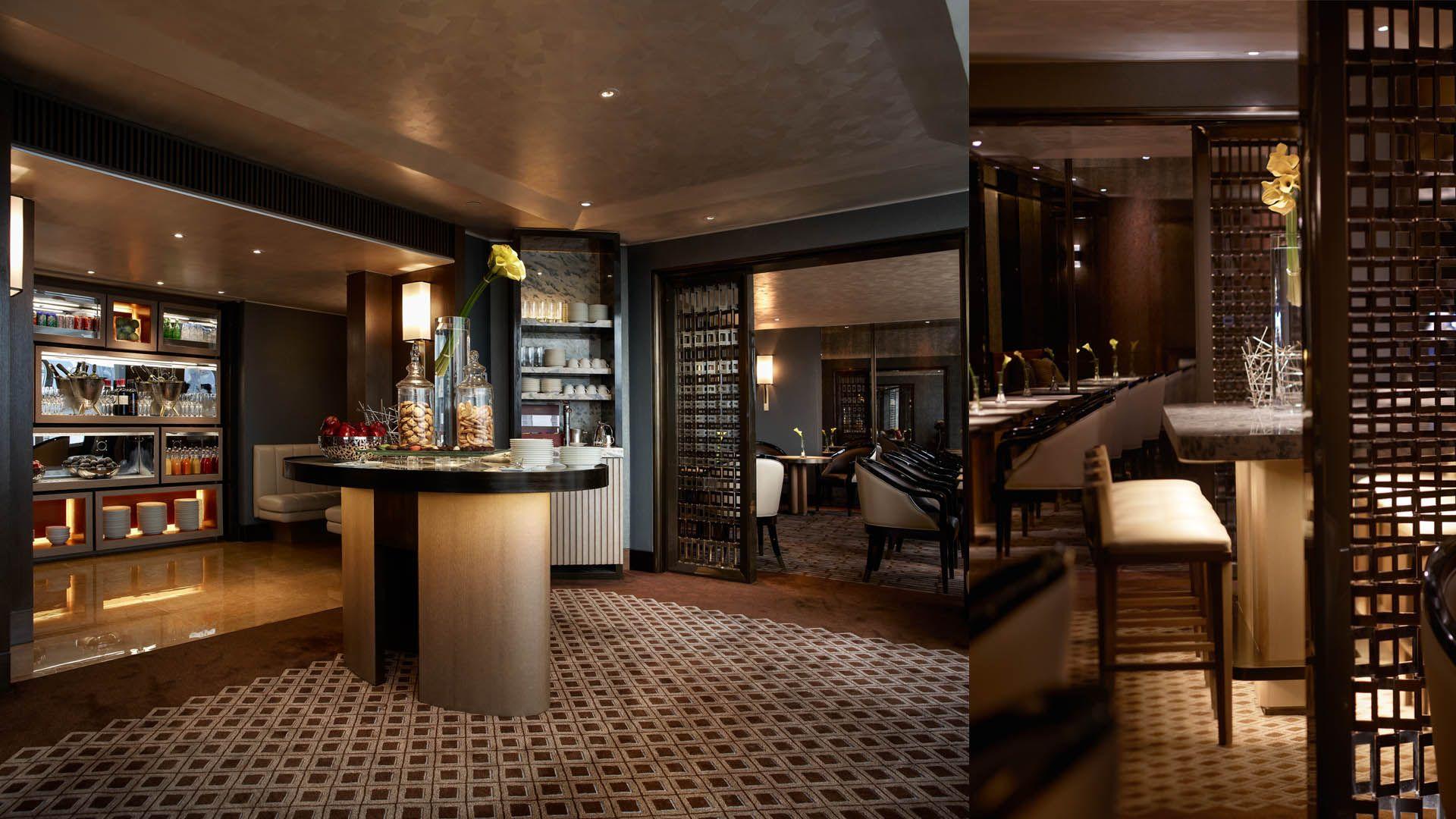 Abconcept conrad hotel hong kong executive lounge for Design hotel hong kong