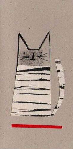 Anthea Carboni - Cat card