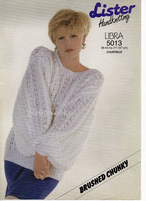 4c378186a Ladies   lady s chunky sweater   jumper 28 to 42 by Hobohooks ...