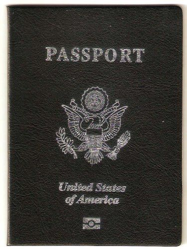 Us Passport W  Visa Pages  Fake Novelty Gag Travel Gift  Great