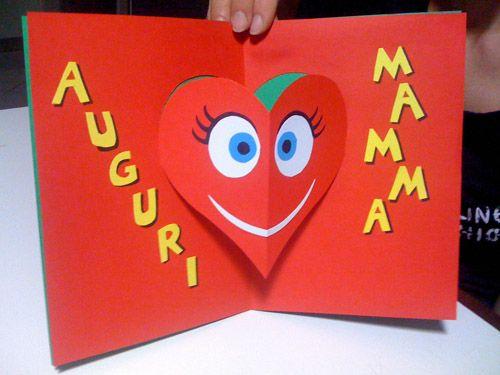 Festa Della Mamma Biglietto Pop Up Creare Pinterest Mothers