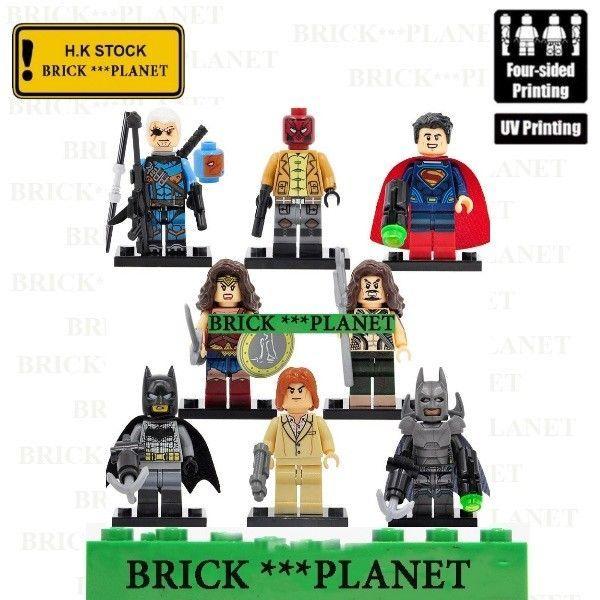 Batman 3000 lego Custom PAD UV PRINTED Minifigure Batman
