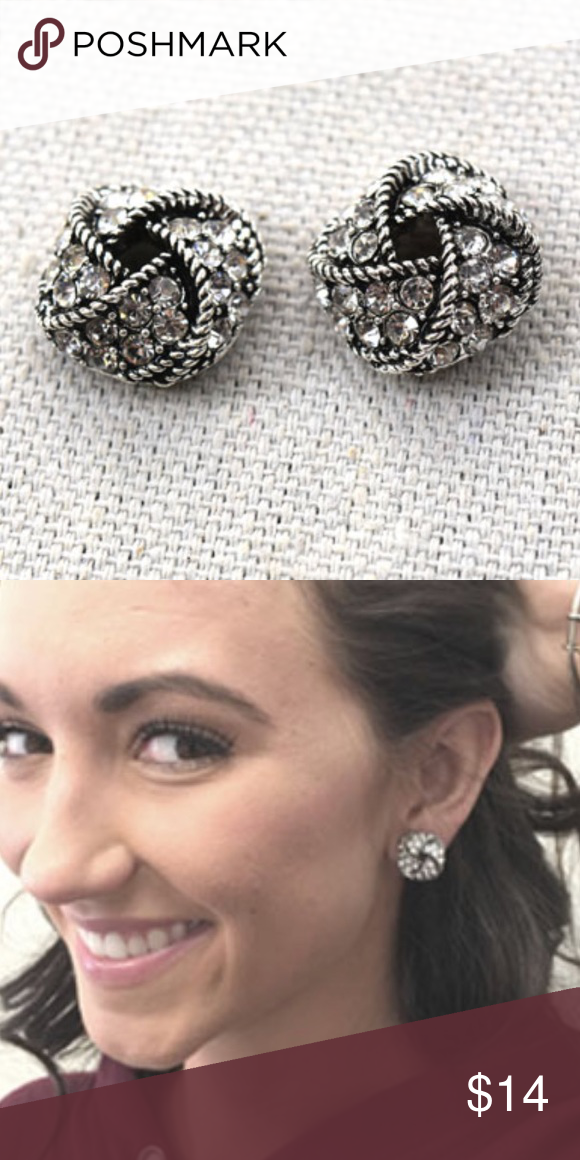 Plunder Design Mason Earrings Super Cute And Cly Stud Jewelry