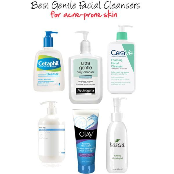 Best Gentle Cleansers For Acne Prone Skin Skin Cleanser Products Gentle Facial Cleanser Best Facial Cleanser