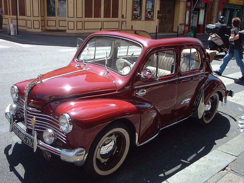 4CV Renault | Classic Cars | Pinterest | Joy ride, Cars and Wheels
