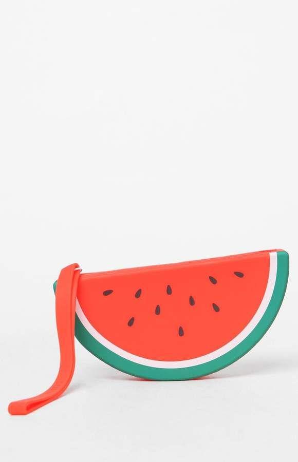 b1b61fedb9d6 Sunnylife Watermelon Silicone Pouch