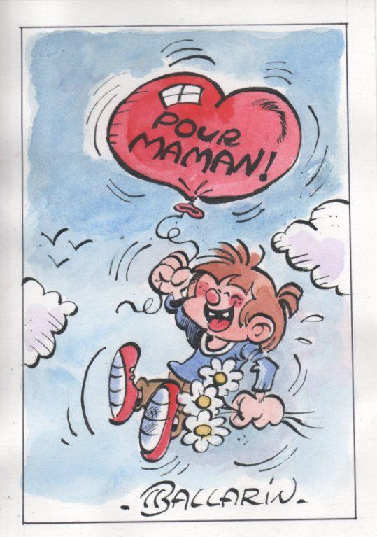 Bonne f te maman dessin humour mes illustrations - Bonne fete humour ...