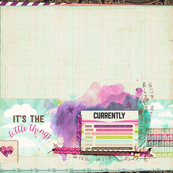 Digital Scrapbooking Layout using Storyteller March 2014 Collection available at the-lilypad.com and JustJaimee.com