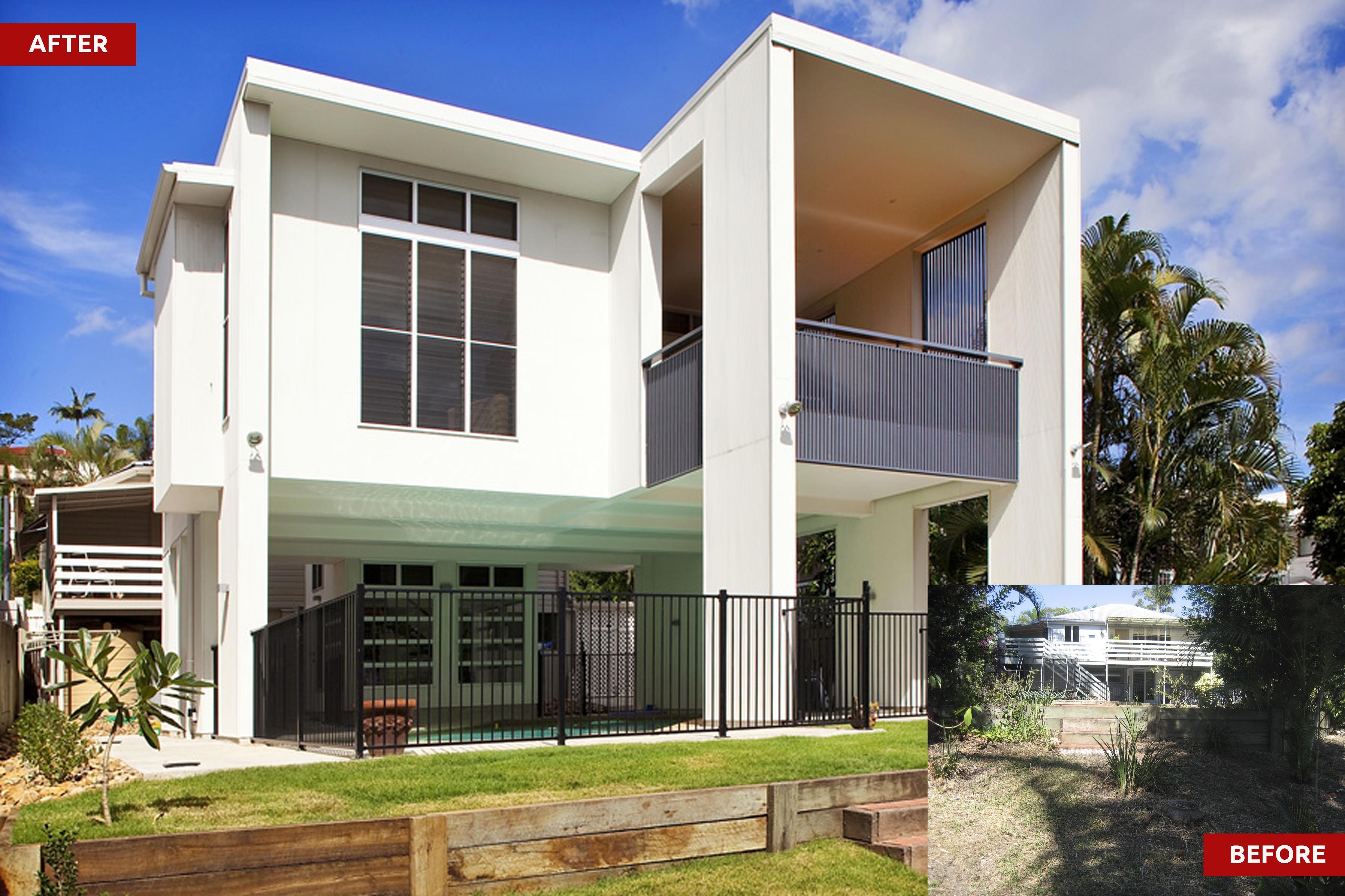 Hamilton Queenslander Home | Modern Rear Extension | dion seminara ...