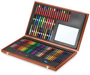 faber-castell young artists' essentials gift set   blick art materials   art sets for kids, kids