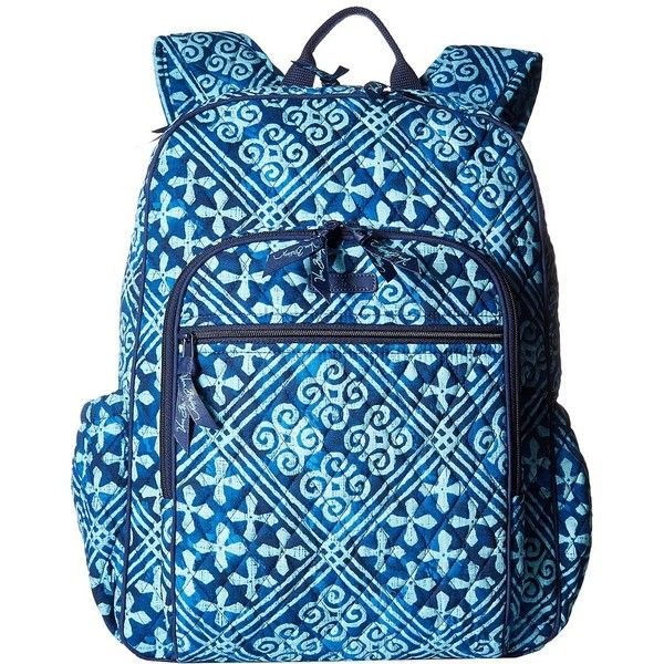Vera Bradley Campus Tech Backpack (Cuban Tiles) Backpack Bags ( 108) ❤ liked bd96ab7d71