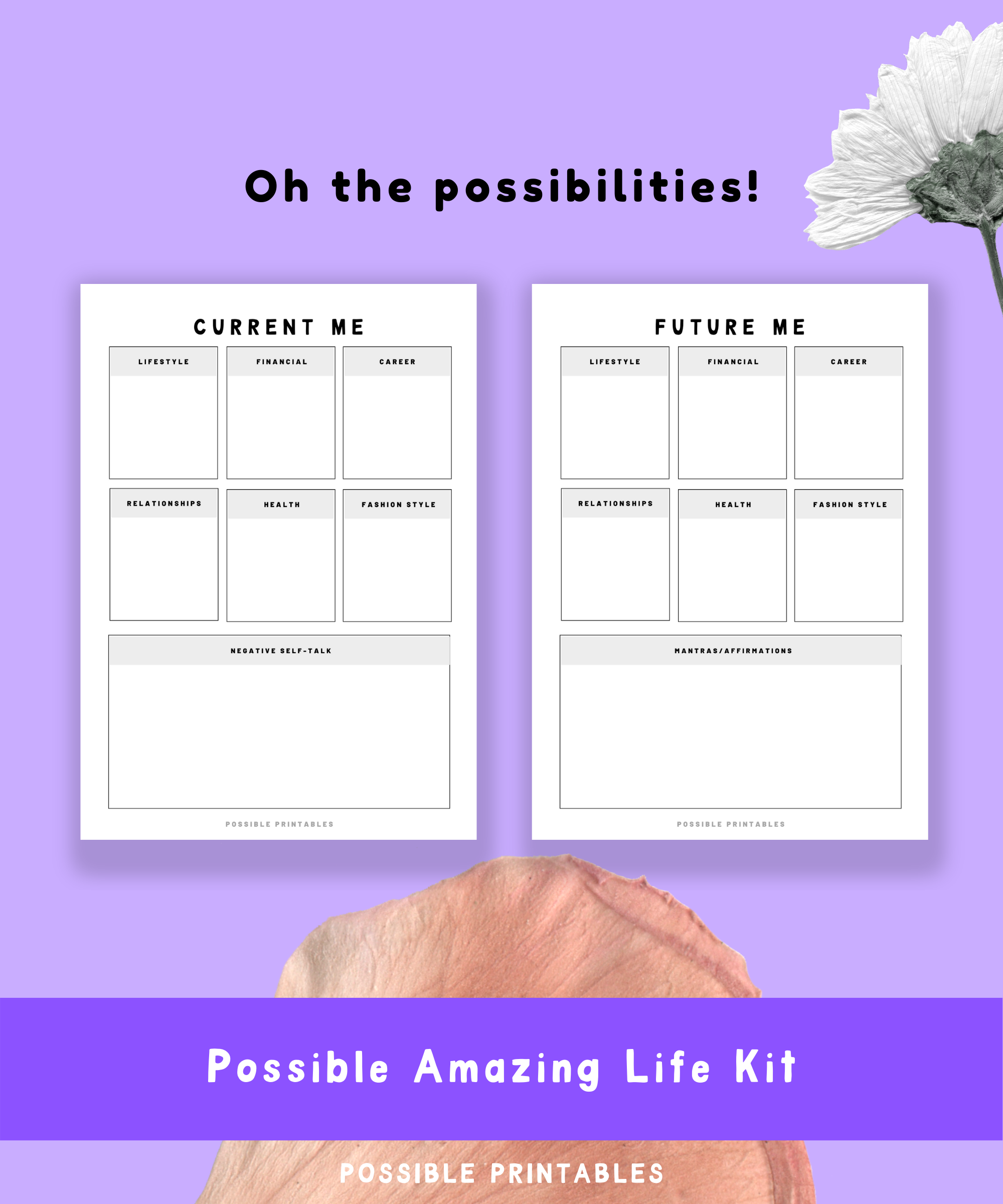 Possible Amazing Life Planner Kit Printables