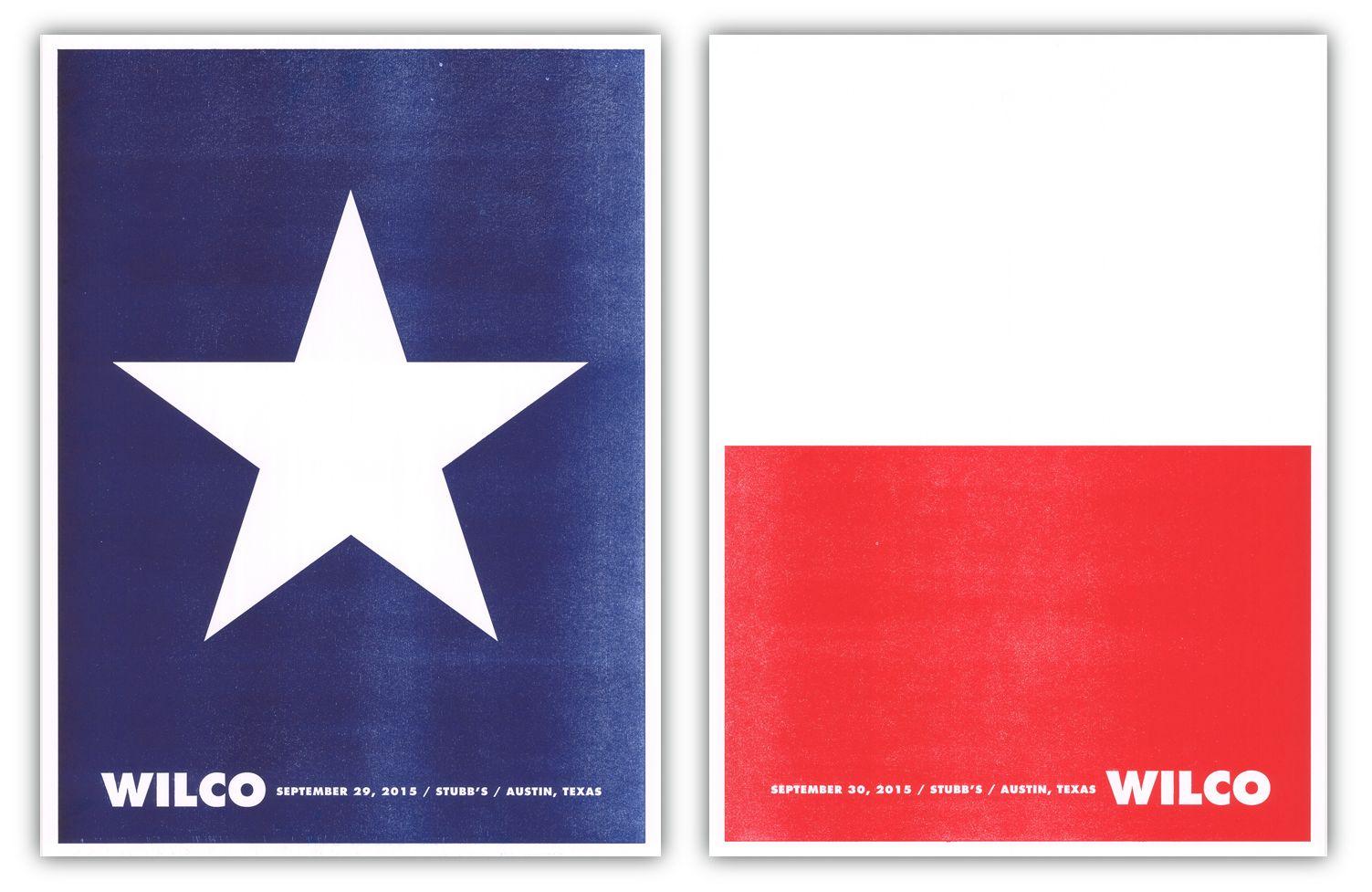 Wilco Austin Flag 977