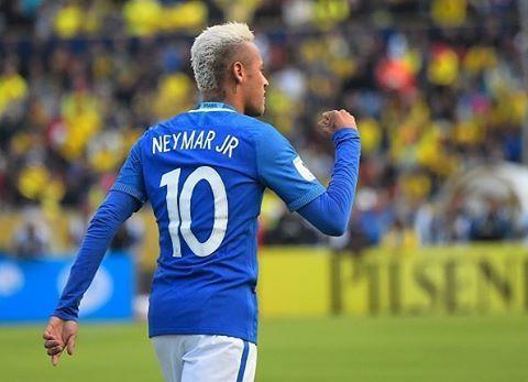 01 09 16 Equador 0 X 3 Brasil Neymarjr Neymar Selecaobrasieira Eliminatorias Russia2018 Jogo Em Andamento Neymar Jr Neymar Junior