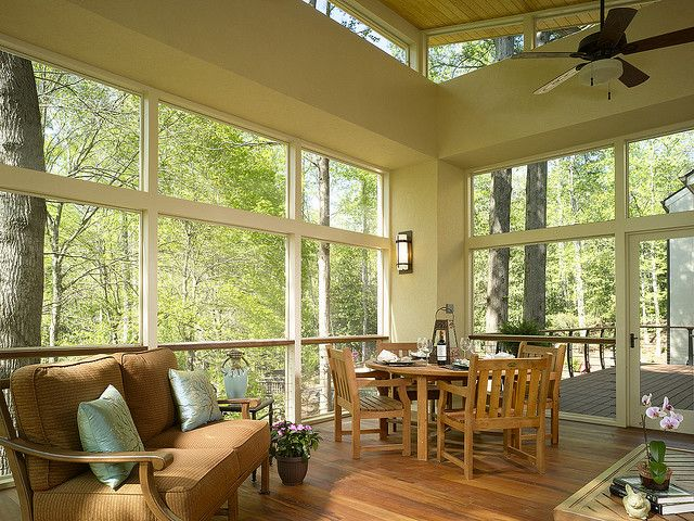 Cable Railing On Screen Porch House Ideas Pinterest