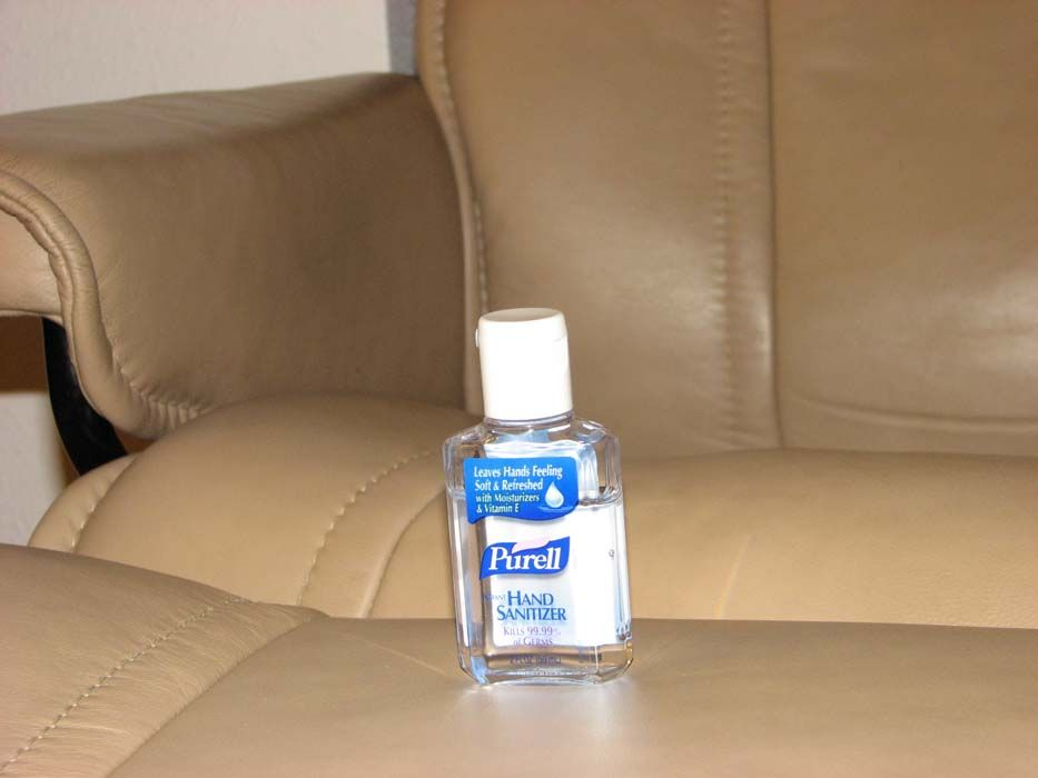How To Remove Pen Ink From Leather, Use Hand Sanitizer . Going To Try This  Right Now Since My 2 Year Old Just Colored On My White Leather Tufted Sofa.
