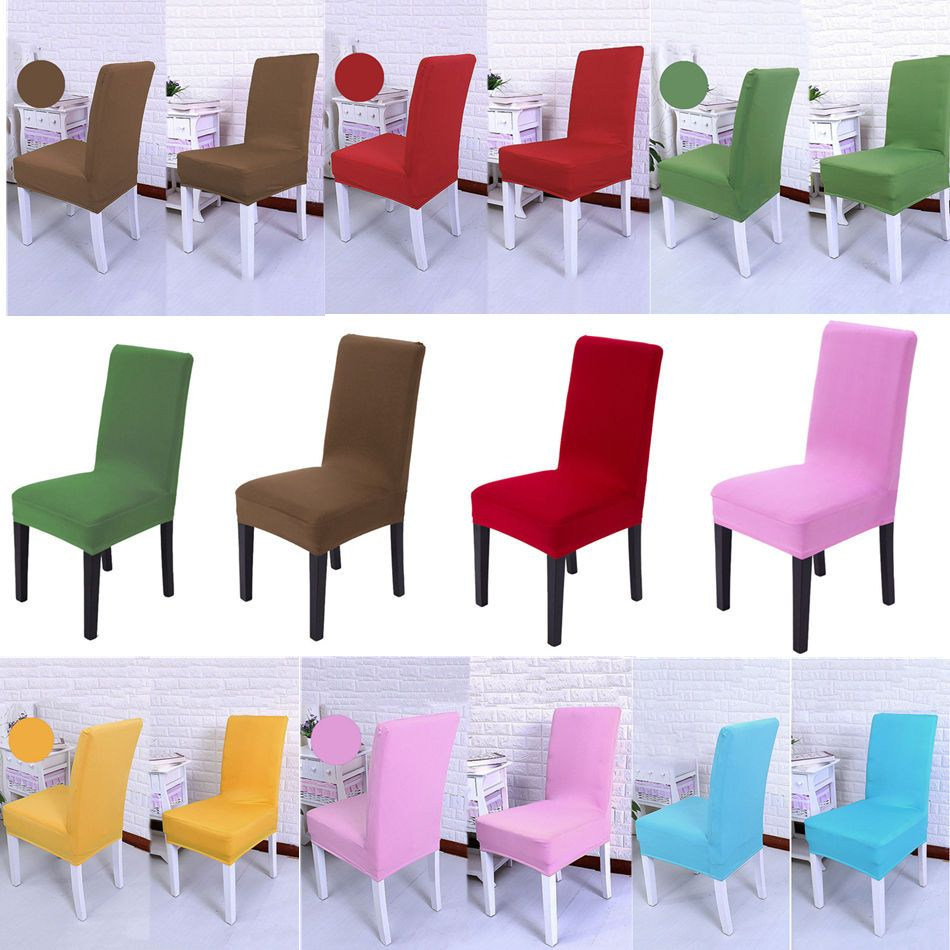408 Dining Room Wedding Banquet Chair Cover Party Decor Seat