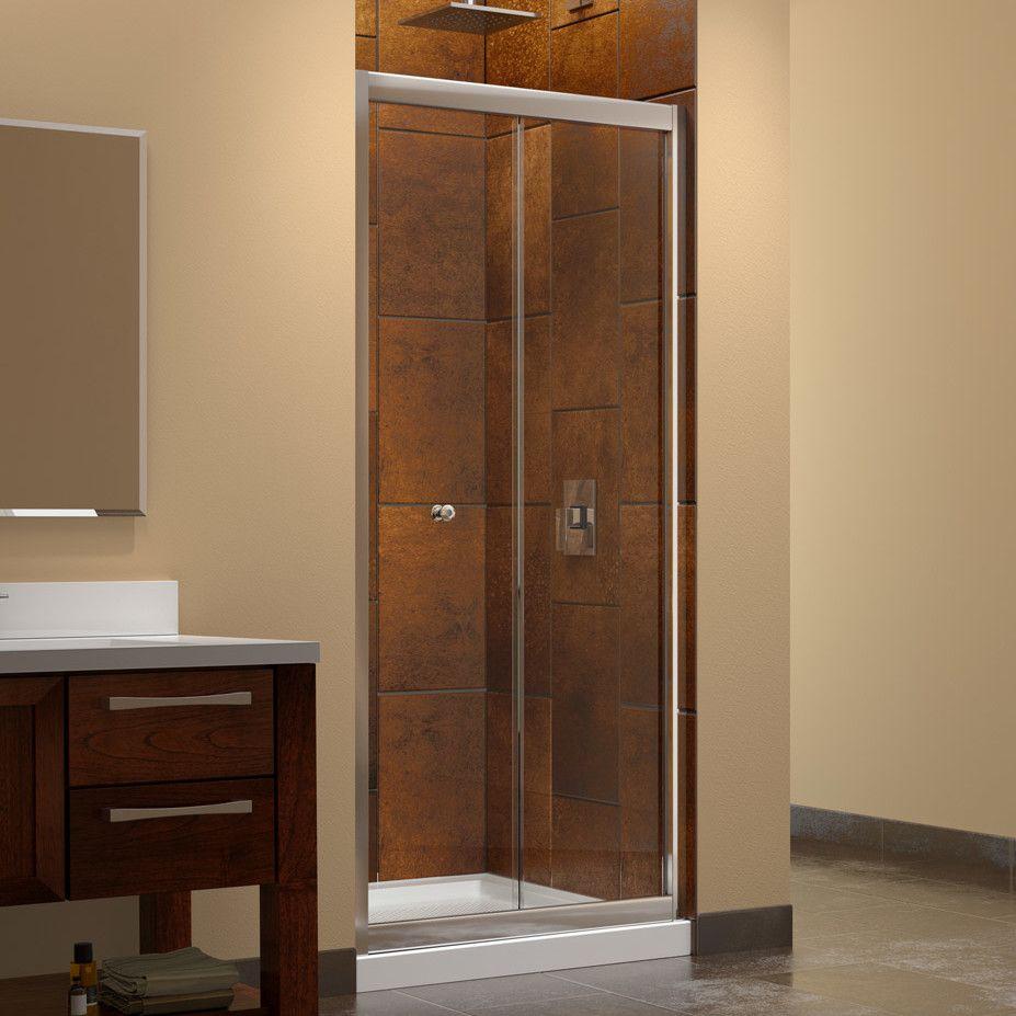 32 X 78 Frameless Fixed Glass Panel Shower Doors Bifold Shower Door Frameless Shower Doors
