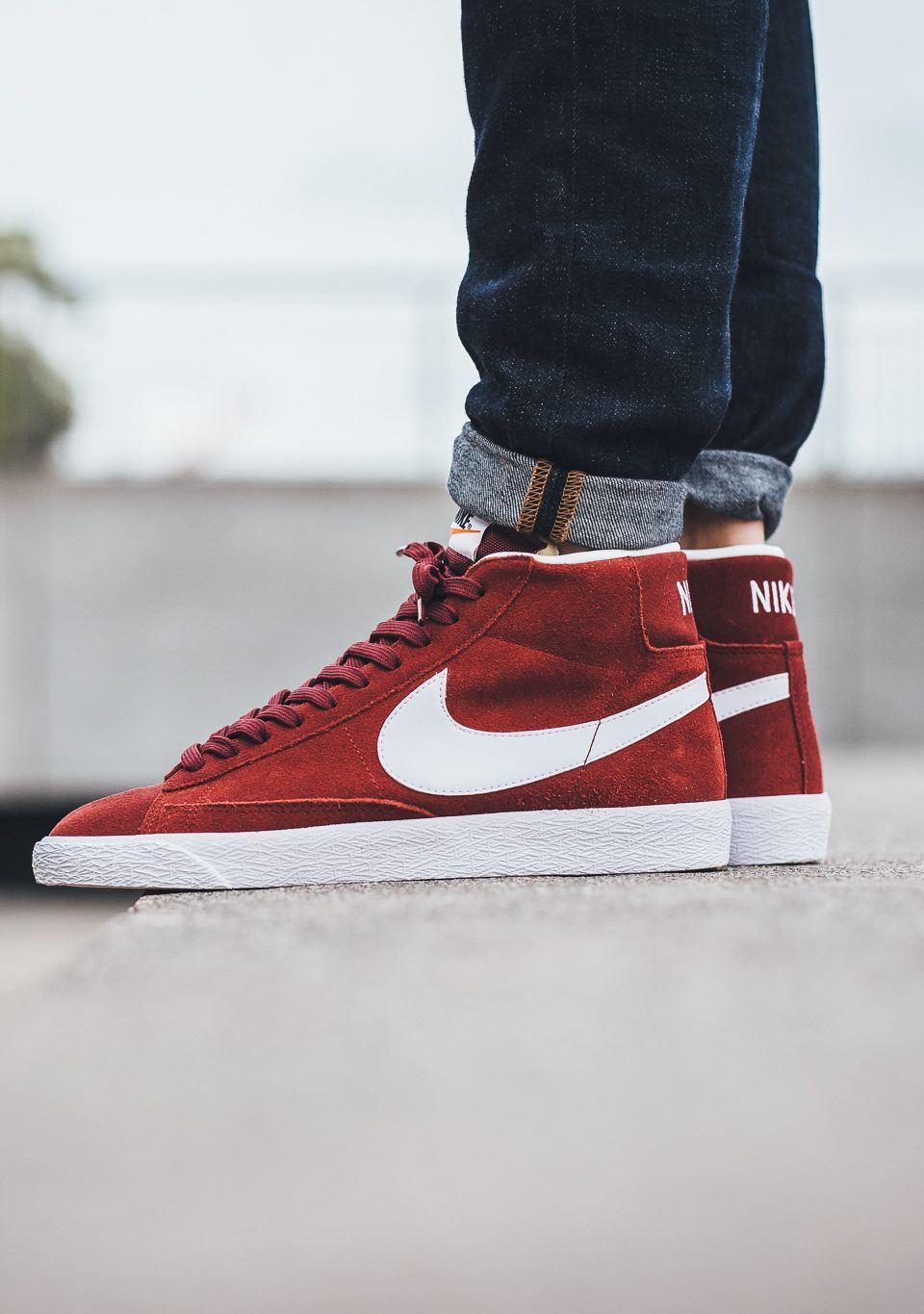low priced 16a0e bfff2 Nike Blazer Mid Premium Team Red sneakernews Sneakers StreetStyle Kicks